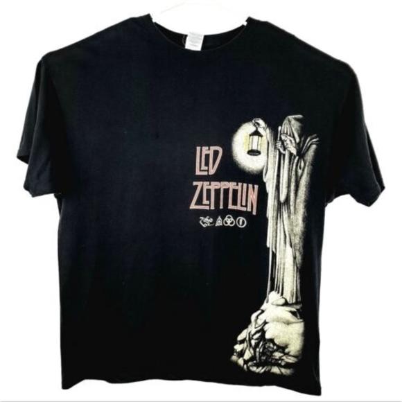 Other - Led Zeppelin Adult 2XL T-Shirt Black Classic Rock